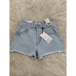 Forever 21 High Rise Jean Shorts Sz 24